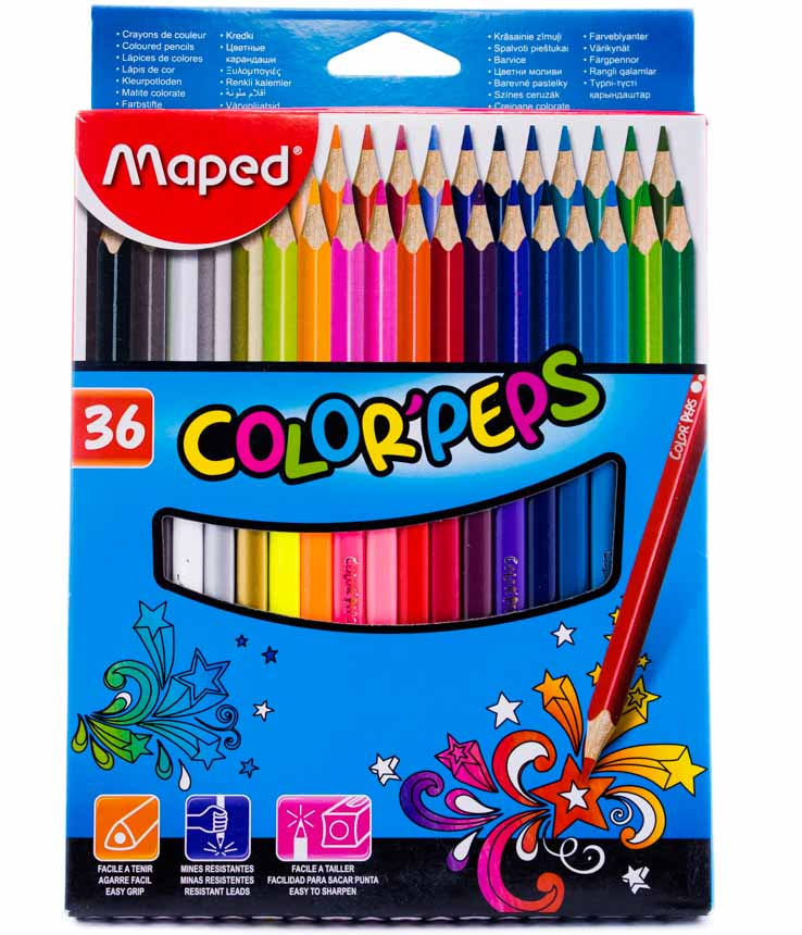 Color largo maped peps 36 colores