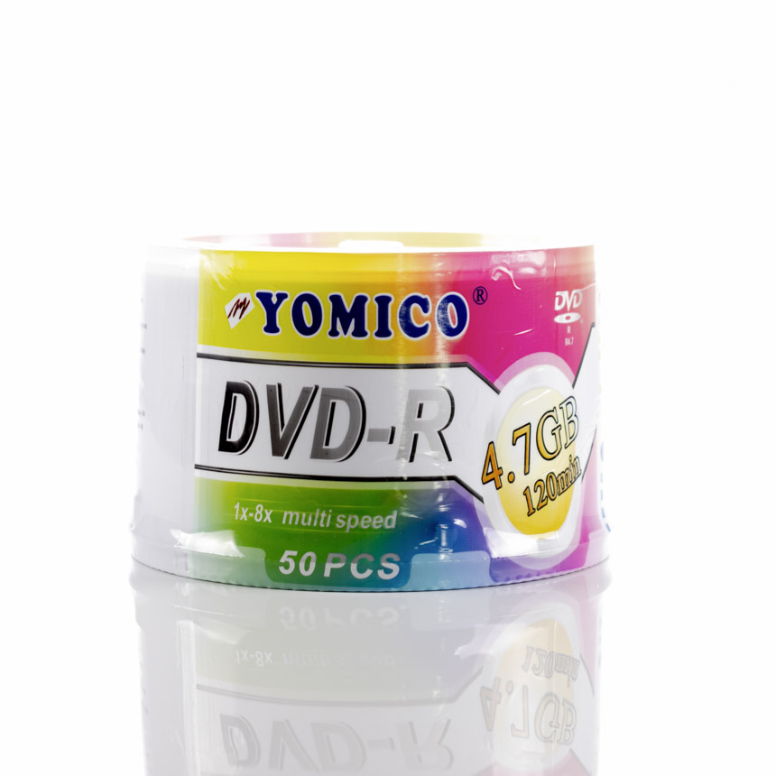 Tambor DVD Blanco 50 PCS