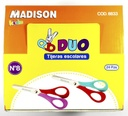 Tijera escolar DOU Kids Madison 24pcs No 8