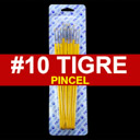 [815-10] Pincel Tigre 12pcs #10