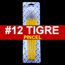 [815-12] Pincel Tigre 12pcs #12