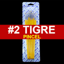 [815-2] Pincel Tigre 12pcs #2