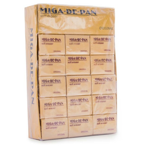 Borrador Miga de pan Original MEDIANO 30PCS