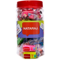 [ERN021] Borrador NEON TRIANGULAR Nataraj Frasco de 40PCS