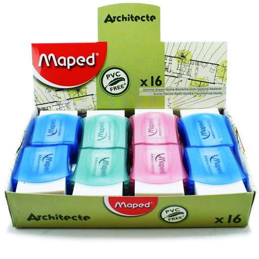 Borrador architecte maped 16pcs