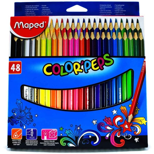 Color largo maped peps 48 colores